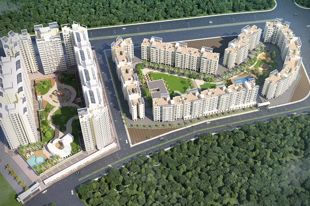 Raunak Residency In Thane -1 Bhk/2 Bhk
