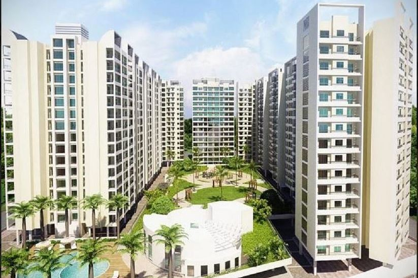 Raunak Unnathi Woods In Ghodbunder Thane-1 BHK