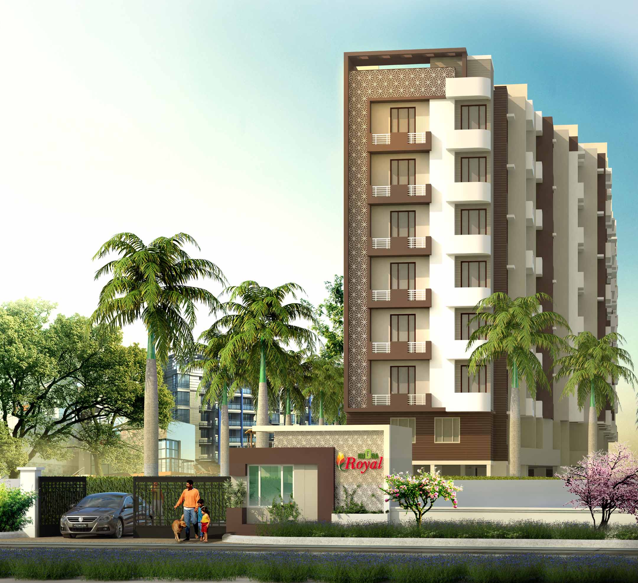 Rudra Royal In Lahartara Varanasi-2 BHK