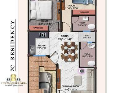 3 Bhk Row  Houses In Lucknow