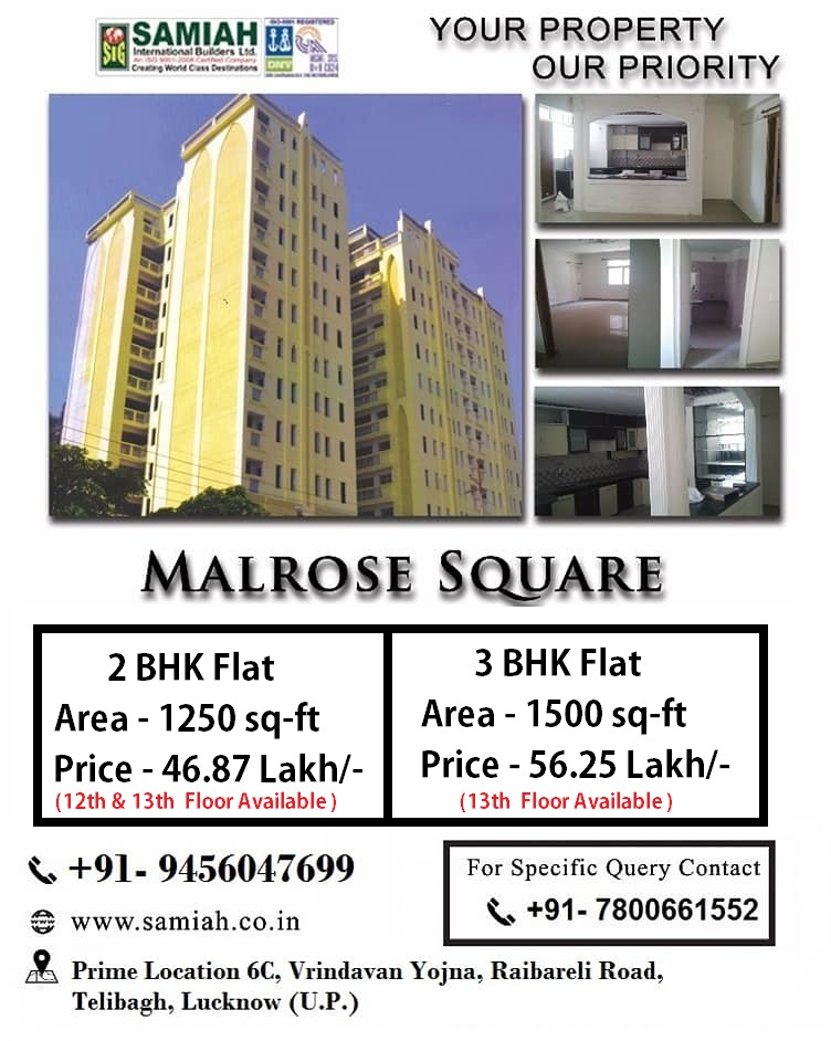 2/3 BHK Flats For Sale In Lucknow